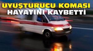 Konya'da uyuşturucu komasına giren kişi ölü bulundu