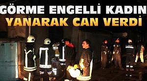 Konya'daki Yangında Yanarak Can Verdi