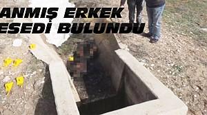 Konya'da Yanmış Erkek Cesedi Bulundu