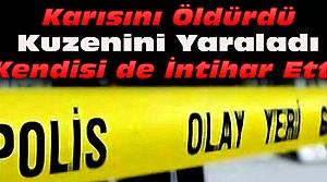 Konya'da Yasak Aşk Dehşeti-Öldürüp İntihar Etti