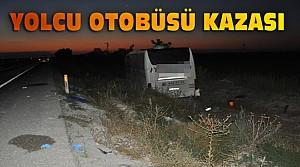 Konya'da Yolcu Otobüsü Kaza Yaptı: 22 Yaralı