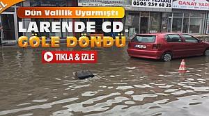 Konya'daki Yağış Bazı Yerleri Göle Çevirdi-VİDEO
