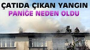 Konya'daki Yangın Paniğe Yol Açtı