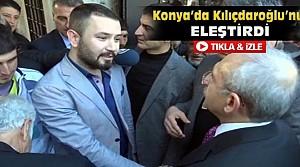 Konyalı Genç Kılıçdaroğlu'nu Böyle Eleştirdi-VİDEO