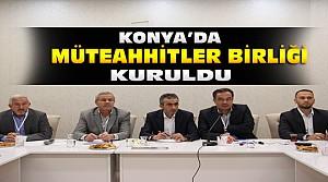 Konyalı Müteahhitler KOMÜT'ü Kurdu