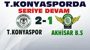 Konyaspor Akhisar Belediyespor Maç Sonucu