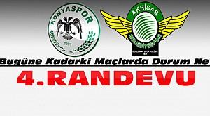 Konyaspor Akhisar ile 4. Maçına Çıkıyor