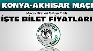 Konyaspor Akhisar Maç Biletleri Satışa Çıktı