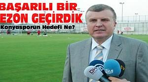 Konyaspor Başkanı Şan'dan Önemli Açıklamalar