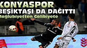 Beşiktaş-Konyaspor Çeyrek Final Maç Sonucu