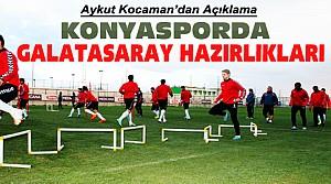 Konyaspor Galatasaray Maçına Hazırlanıyor