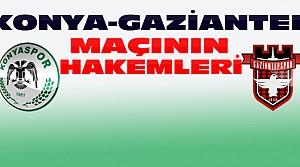 Konyaspor Gaziantepspor Maçının Hakemleri