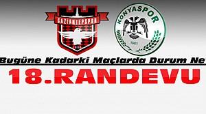Konyaspor Gaziantepsporla 18. Maçına Çıkıyor