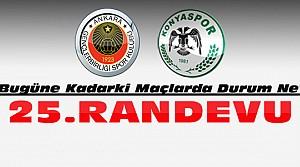 Konyaspor Gençelrbirliği ile 25. Maçında