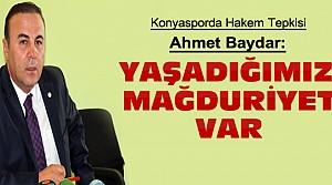 Konyasporda Hakeme Tepki Taraftara Teşekkür