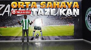 Konyasporda Yeni Transfer-VİDEO