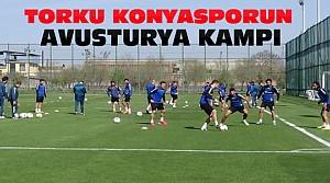 Konyasporun Avusturya Kampı Başladı