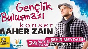 Maher Zain Konya'da Konser Verecek