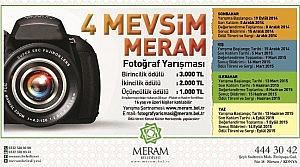 Meram Belediyesi'nden Ödüllü Fotoğraf Yarışması