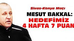 Mesut Bakkal Sivasspor Maçını Yorumladı