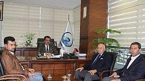 Milletvekli Kabakcı'dan Başkan Kale'ye Ziyaret