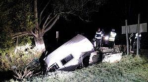 Minibüs Sulama Kanalına Düştü: 6 Yaralı