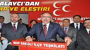 Mustafa Kalaycı'dan CHP'ye Eleştiri