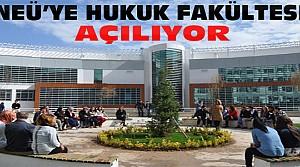 Necmettin Erbakan Üniversitesine Hukuk Fakültesi