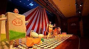 Obezitenin Zararları Tiyatroyla Anlatıldı