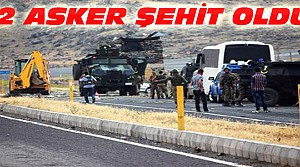 PKK'dan İntihar Saldırısı:2 Asker Şehit Oldu
