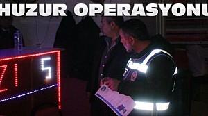 Polisten Huzur Operasyonu