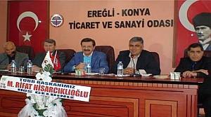 Rifat Hisarcıklıoğlu Ereğli'ye Geldi