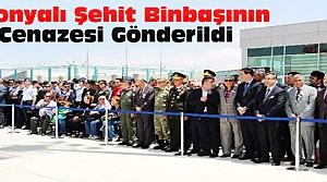 Şehit Binbaşının cenazesi Muğla'ya uğurlandı