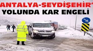 Seydişehir-Antalya Yolu Trafiğe Kapandı