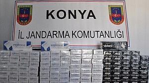 Seydişehir'de Kaçak Sigara Ele Geçirildi