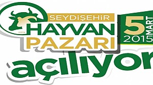 Seydişehir'e Hayvan Pazarı Açılıyor