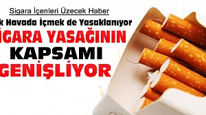 Sigara Artık Bu Yerlerde de İçilemeyecek