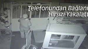 Telefonundan İzleyerek Hırsızı Yakalattı
