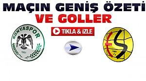Torku Konyaspor-Eskişehirspor-ÖZET-VİDEO
