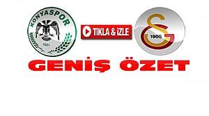 Torku Konyaspor-Galatasaray-ÖZET-VİDEO