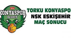 Torku Konyaspor NSK Eskişehir Maç Sonucu