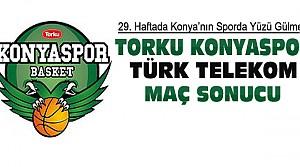 Torku Konyaspor-Türk Telekom Maç Sonucu