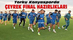Torku Konyasporda Beşiktaş Hazırlıkları Sürüyor