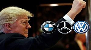 Trump'tan Alman Araçlarına rest
