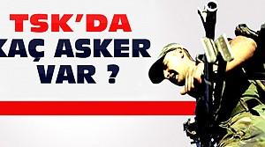 TSK Asker Sayısını Açıkladı