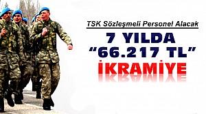 TSK Sözleşmeli Personel Alıyor