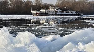 Tuna Nehri buz tuttu