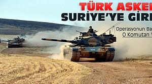 Türkiye Suriye'de Operasyon Başlattı