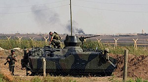 Türkiye Suriye'yi vurdu