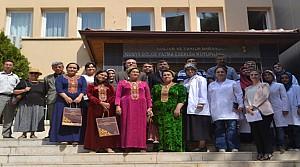 Türkmenistanlı Uzmanlar Sertifikalarını Aldı